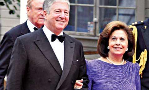 Престолонаследник Александар II Карађорђевић и принцеза Катарина Карађорђевић